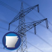 arkansas electrical utility transmission towers