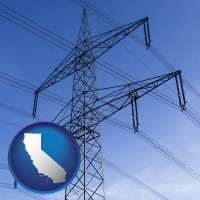 california electrical utility transmission towers