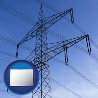 colorado electrical utility transmission towers