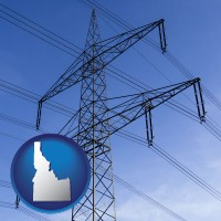 idaho electrical utility transmission towers