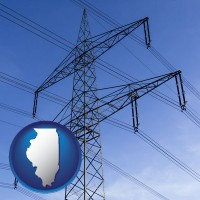 illinois electrical utility transmission towers