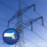 massachusetts electrical utility transmission towers
