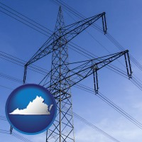 virginia electrical utility transmission towers