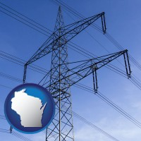 wisconsin electrical utility transmission towers