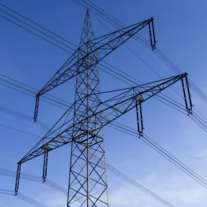electrical utility transmission towers